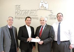 Maschoff Donation.JPG