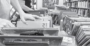 042915 Book Sale BW.jpg
