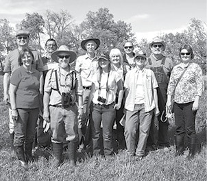Master Naturalist field trip at Lily Green with Marty 20150502 002BW.jpg