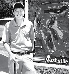072915 Nville Golf Kyler Club Champion BW.jpg