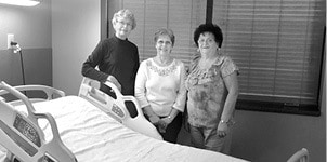 Judy Jones, Nancy Craig, & Ora Mae Droege BW.jpg