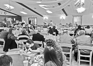 Hoyleton Community Club Chicken Dinner BW.jpg