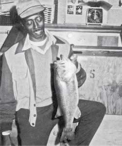 Classic photo Guy with Fish BW.jpg