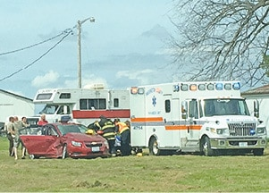 Two-Car Crash At SR 153 And CR 10 Ends With Injuries – The Nashville