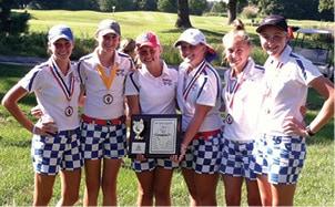 Girls Golf Conference Champions C.jpg