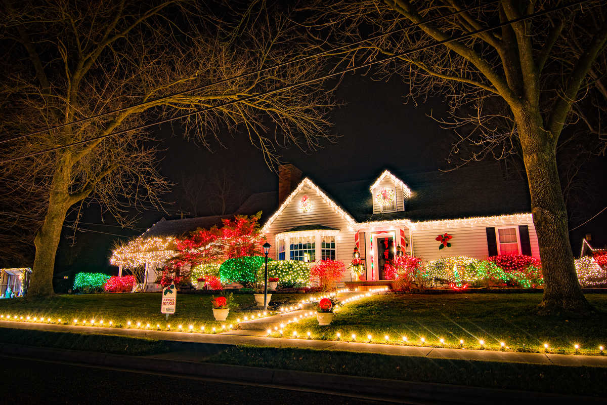 the best christmas lights in town 2017