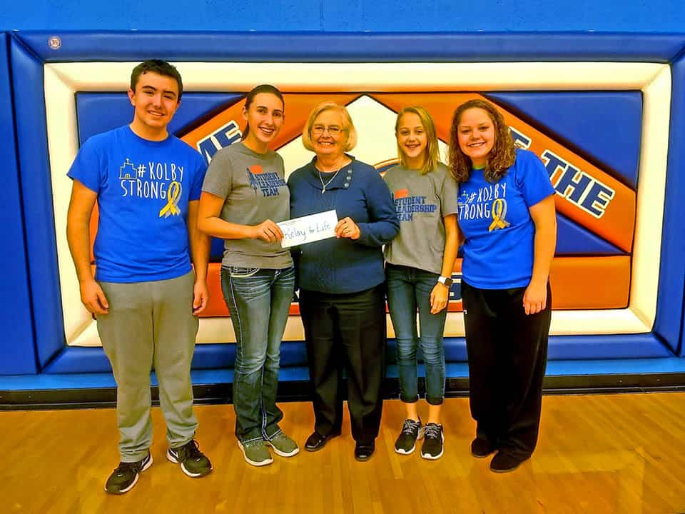 Nchs Ohs Make Donations To Relay For Life The Nashville
