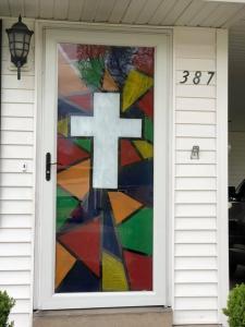 storey front door