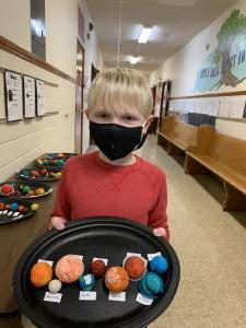 St. Ann 3rd and 4th Grade Solar System Projects