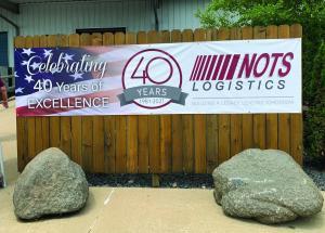 NOTS Logistics 40th Anniversary